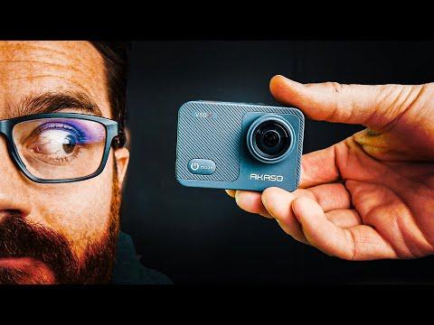 Best GoPro Alternative Under $100 // Akaso V50X 4k Action Camera Review
