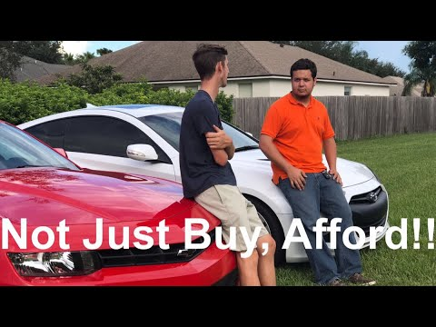How to Buy & Afford a Sports Car at a Young Age! Our Story