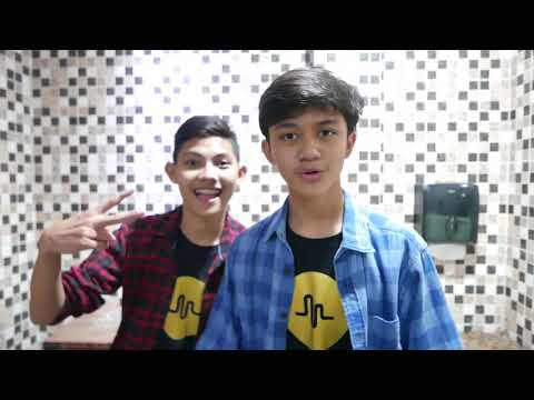 Diary of Arash Buana - #vlog 006 musical.ly with Augenta