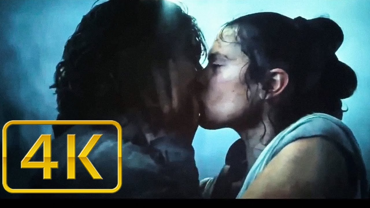 Kylo Ren And Rey Kiss Scene Star Wars The Rise Of Skywalker Youtube