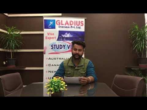 Study Visa Consultants In Chandigarh- Gladius overseas Pvt ltd