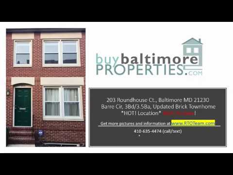 203 Roundhouse Ct Baltimore Md 21230 Rent To Own Baltimore