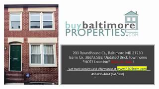 203 Roundhouse Ct , Baltimore MD 21230 | Rent-To-Own Baltimore (Lease Option MD)