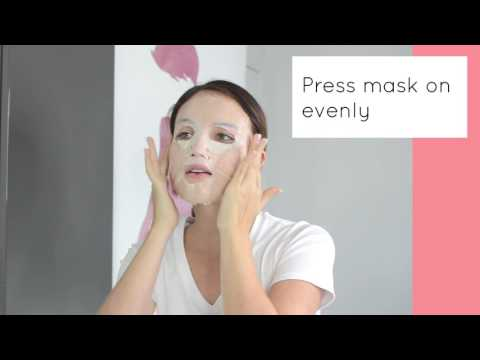 [TUTORIAL] Premium Puresa Utena Gold Jelly Hyaluronic Acid Mask from gumii.shop