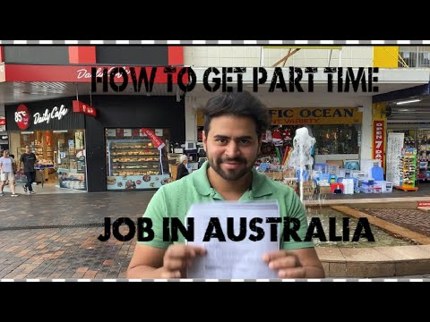 How To Get A Job In Sydney, Australia | Part Time Job In Australia | Part-1