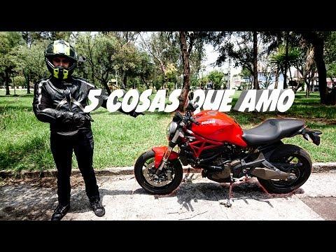 5 cosas que amo de la Ducati Monster || Motovlog