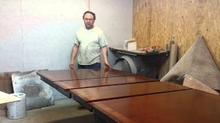 Refinishing A Baker Dining Room  Table At Timeless Arts Refinishing