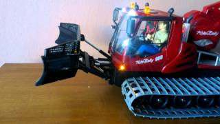 RC Dickie Pistenbully 600 - Lights test 3