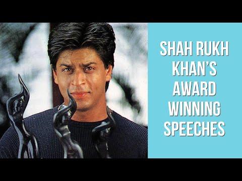 Shah Rukh Khan's Filmfare Award Winning Speeches | Birthday Special | Filmfare Awards