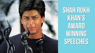Shah Rukh Khan's Filmfare Award Winning Speeches | Birthday Special | Filmfare Awards