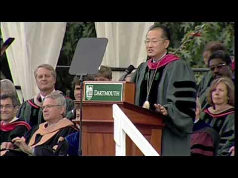 Inaugural address by Jim Yong Kim