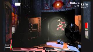 New Foxy Monstrosity!-Five Nights At Freddy