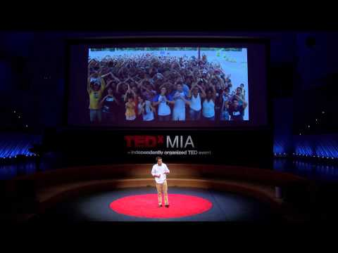 Disrupting philanthropy: Nicolas Berardi at TEDxMIA 2012 Framing the Future