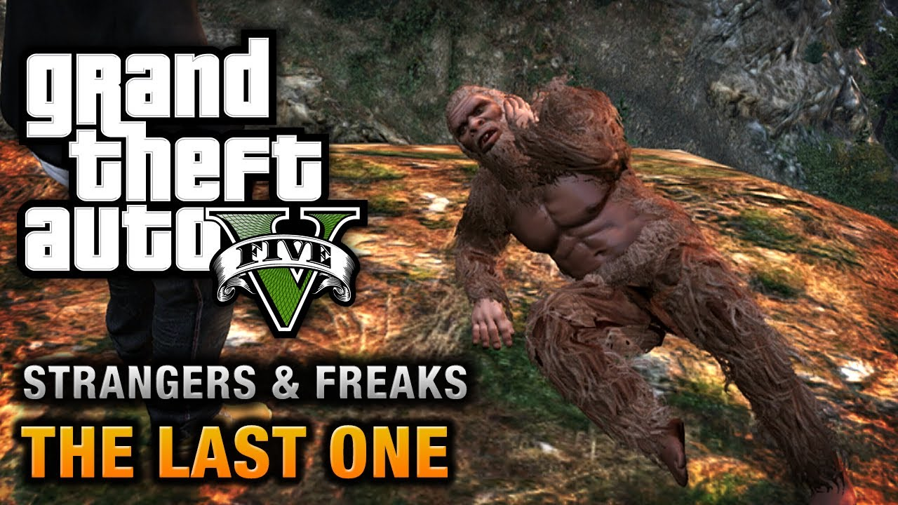 Gta 5 Bigfoot The Last One 100 Gold Medal