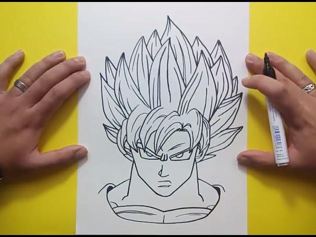 Como Dibujar A Goku Paso A Paso 3 Dragon Ball How To