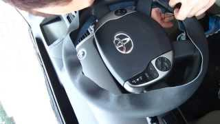 How to Install Genuine Leather Steering Wheel Cover - Part 2