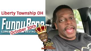 Comedian Shuler King - Oct 30th Liberty Township Funny Bone