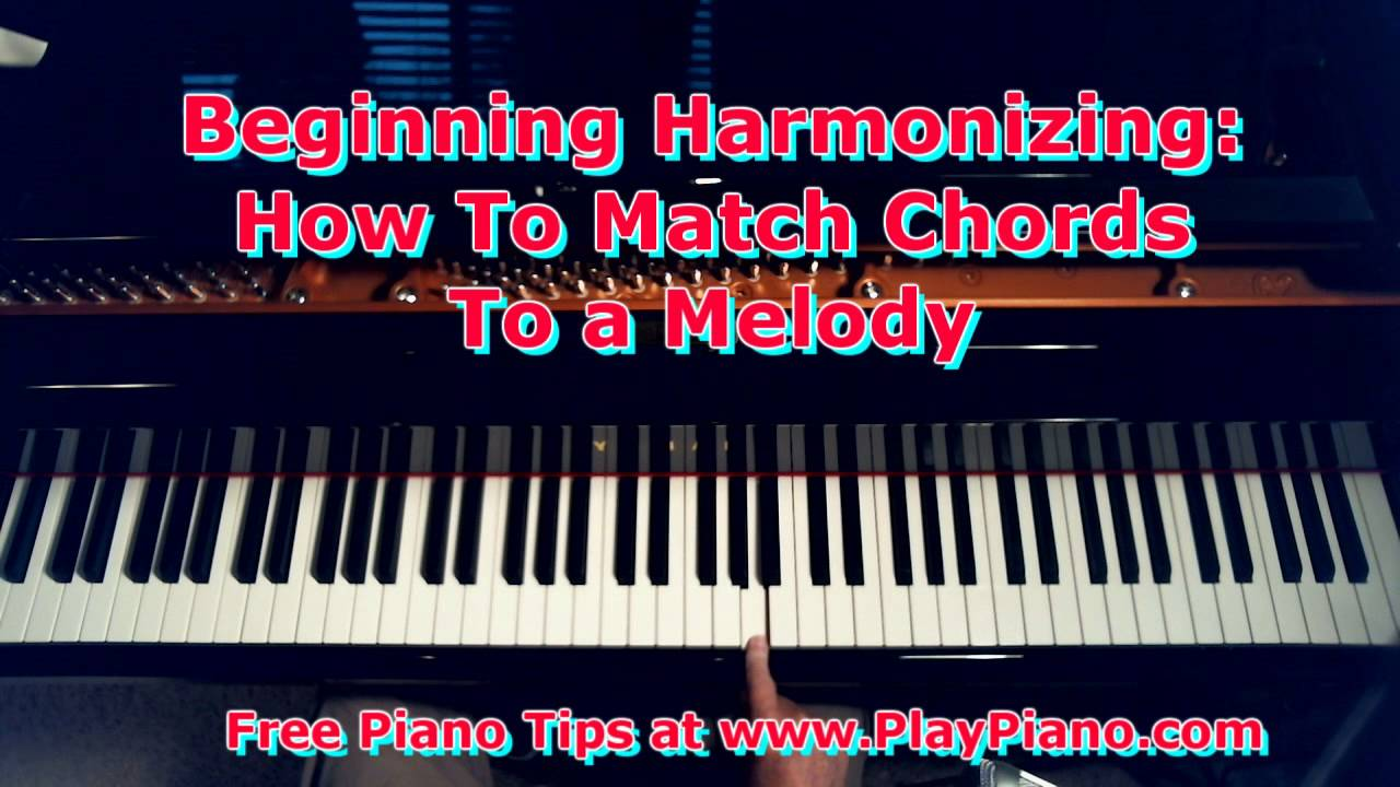 How to harmonize a melody with chords in your left hand for how to harmonize a melody with chords in your left hand for beginners only youtube hexwebz Image collections