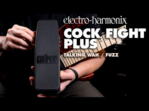 Electro-Harmonix Cock Fight Plus Demo by Bill Ruppert  Wah and Talking Pedal with Fuzz.