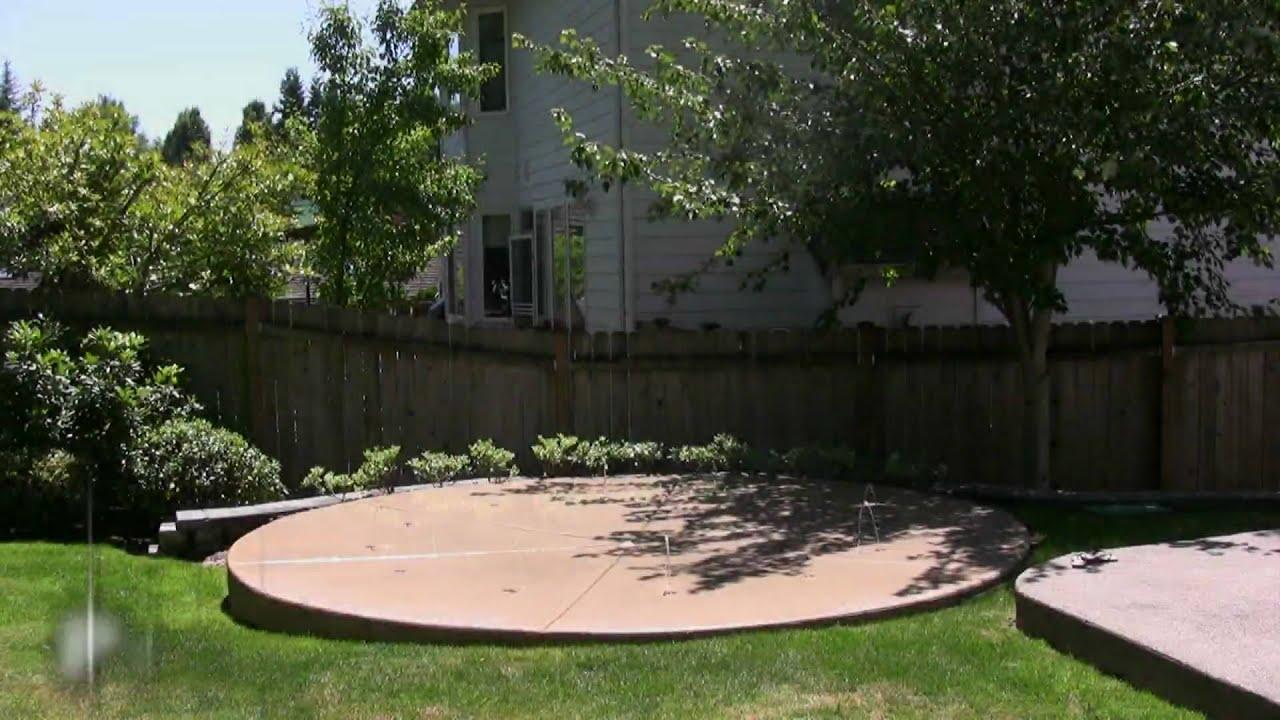 Backyard Splash Pads wetdek backyard splash pad programs - youtube