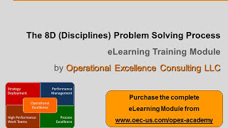 Video Operational Excellence 101 - 5. The 8D Problem Solving Process download MP3, 3GP, MP4, WEBM, AVI, FLV Desember 2017