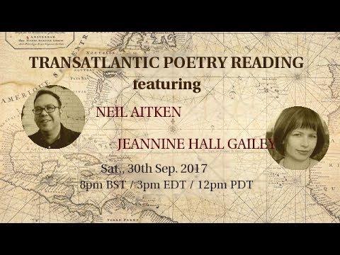Jeannine Hall Gailey and James O'Sullivan // Transatlantic Poetry