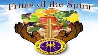 Fruit of the Spirit - FAITHFULNESS - Youth Week Edition