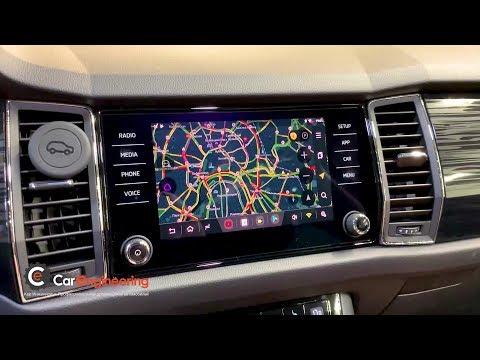 Навигация в Skoda Kodiaq 2019 (Android + штатная магнитола Шкода Кодиак)