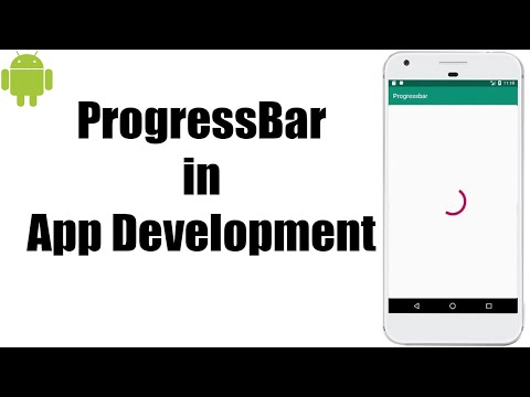 Progress Bar in Android Studio | Android Tutorial for beginner | How to thumbnail
