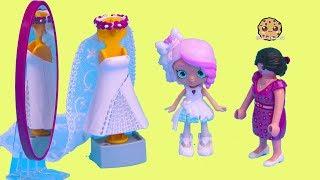 Wedding Dress ! Getting Married Shopkins Shoppies Bride Video 1