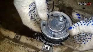 Ремонт Газ 2410 ''Волга'' - Замена топливного датчика
