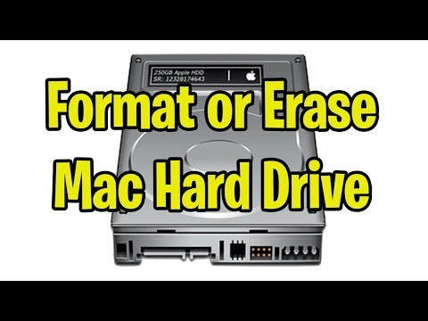 Format Or Erase A Mac Hard Drive - All Formats Explained APFS, HFS+ Mac OS Journaled, FAT, ExFAT