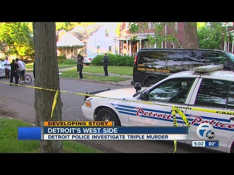 Three killed in morning shooting in Detroit