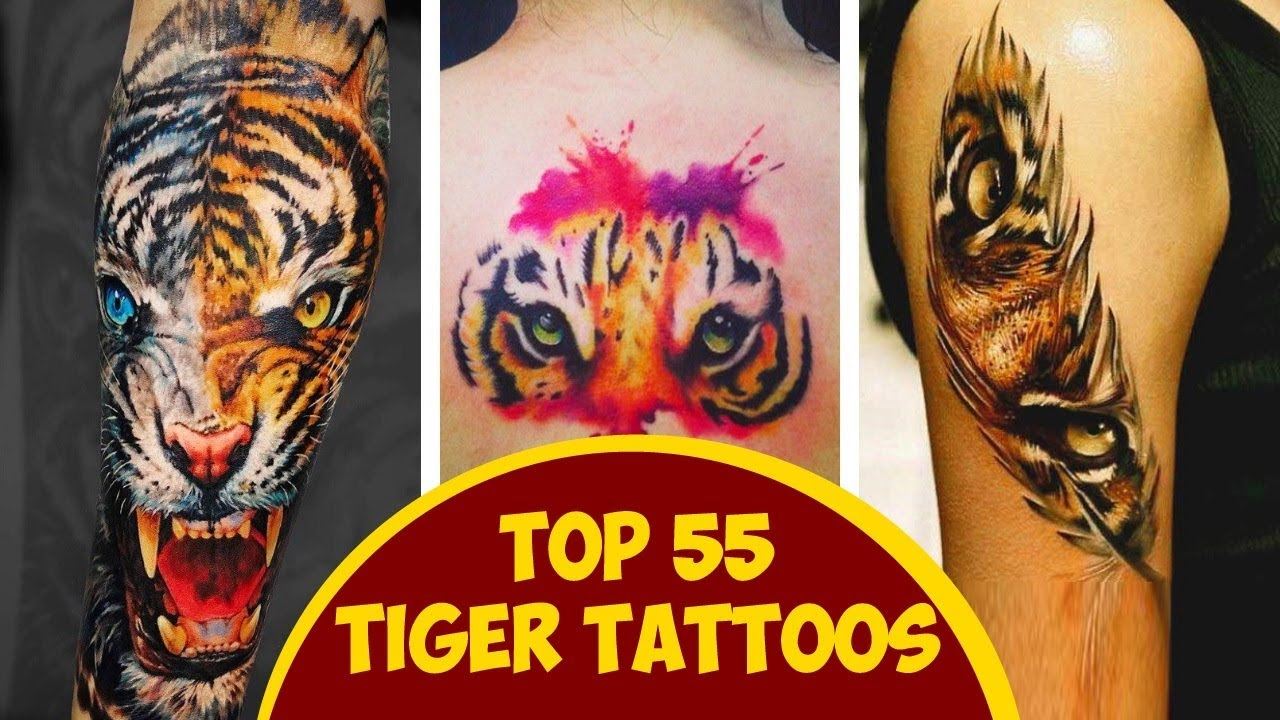 b576c88f8 Top 55 Tiger Tattoos For Men And Women - YouTube