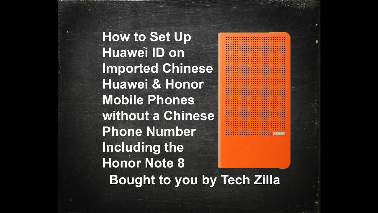 How to set up Huawei ID on Chinese imported Huawei and Honor phones Tutorial
