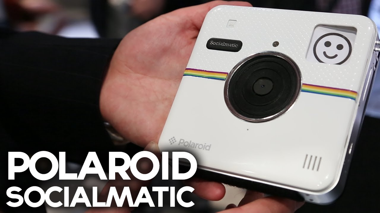 Polaroid Socialmatic Connected 'Instagram' Camera (CES 2014) - YouTube
