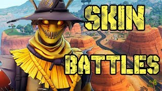 FORTNITE SKIN BATTLES-NEW STRAW MAN SKIN WINS INSTANT-MORNING STREAM-FORTNITE ENGLISH
