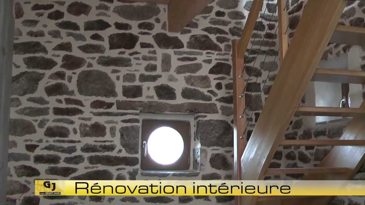 maconnerie interieure renovation construction pierre saint malo saint brieuc dinan dinard youtube. Black Bedroom Furniture Sets. Home Design Ideas