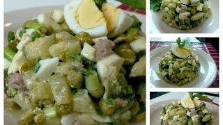Очень вкусный салат из печени трески. ВКУСНОЕ МЕНЮ. РЕЦЕПТЫ