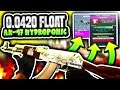 0 0420 FLOAT AK 47 HYDROPONIC TRADE UP CS GO Trade Up Contract mp3