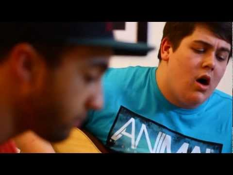 Michael Collings and Isaac C: Rihanna- We Found Love Acoustic Cover