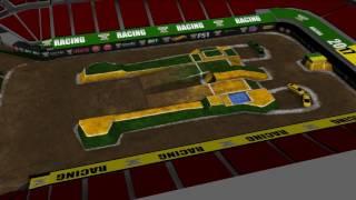 Monster Jam World Finals XVIII Racing Track