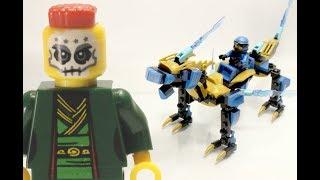 Mở hộp và lắp ghép bộ đồ chơi Lego ninja master 68081A