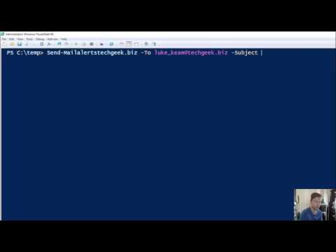 PowerShell  Using Send-MailMessage to Send Email