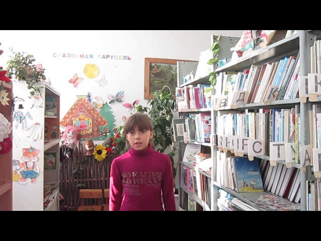 Изображение предпросмотра прочтения – АннаРябиченко читает произведение «Зимнее утро» А.С.Пушкина
