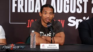 Bellator 160-Ben Henderson vs. Patricio Pitbull COMPLETE Post Fight Press Conference Video