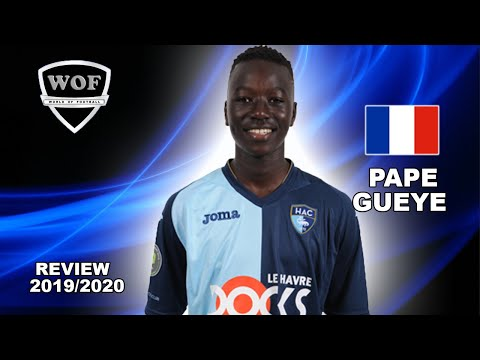 PAPE GUEYE - Welcome To Arsenal? 2020 - Brilliant Passing & Defensive Skills - Le Havre (HD) - 동영상