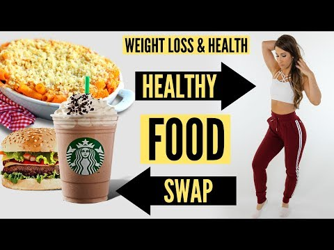 Food Swaps For Weight Loss & Health Dietitian Talk