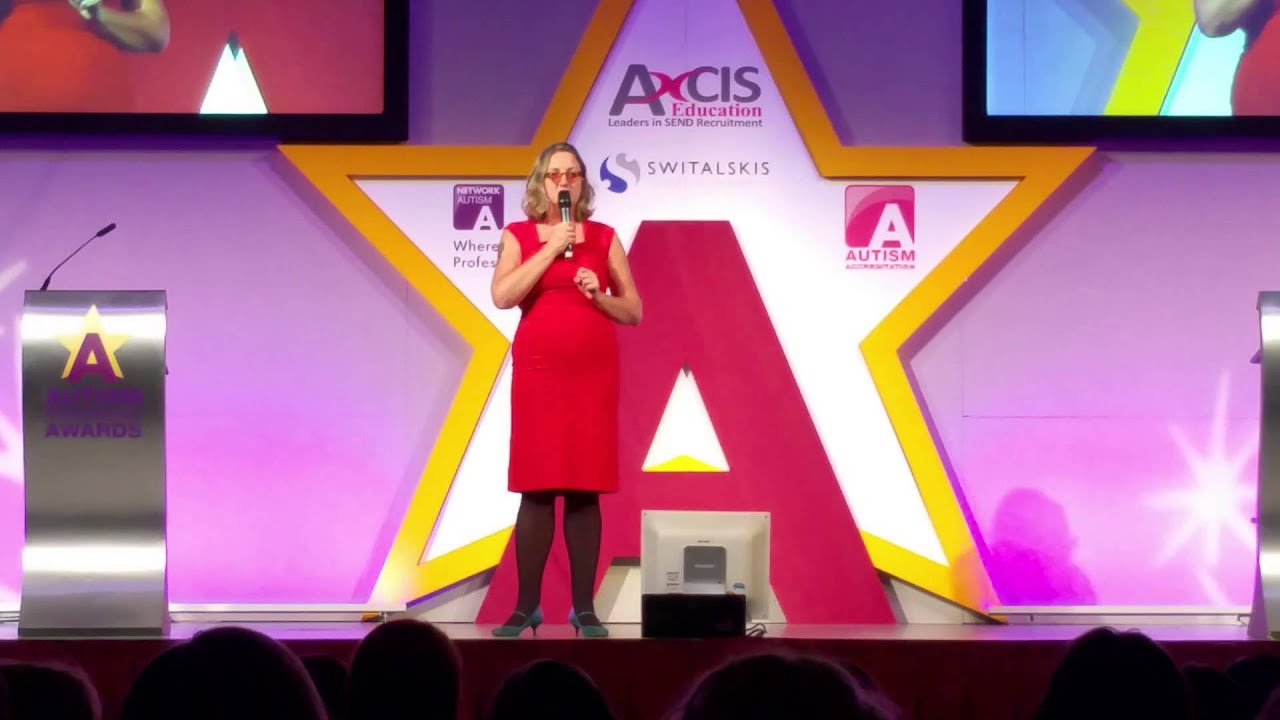 Sarah Hendrickx Autism edy National Autistic Society Awards