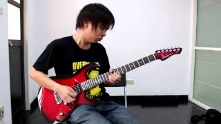 Avenged Sevenfold - Hail to the King Solo By Nut (Guitar Cover)